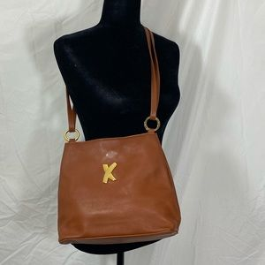 Paloma Picasso Leather Crossbody Adjustable Strap